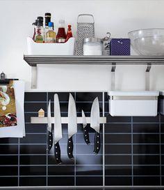 9 trucs pour gagner de la place dans la cuisine   cuisine, petite