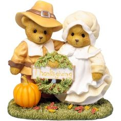 Cherished Teddies Thankful for Life's Blessings