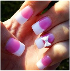 Homecoming/prom nails. SUPER CUTE!
