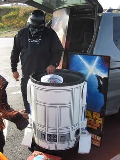 Trunk or treat. R2d2
