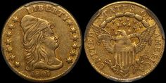 1807 Capped Bust Half Eagle $2.50 Gold PCGS XF45 CAC - Submitted by Ankur Jetley (http://pqcollectibles.com/) #CoinOfTheDay #COTD