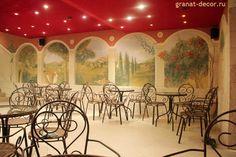 роспись стен в кафе - Поиск в Google