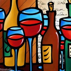 Peace-Offering-Original-Abstract-Modern-colorful-wine-Art-Painting-Fidostudio-Thomas Fedro