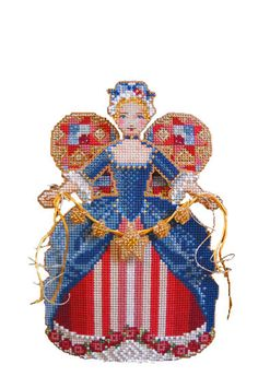4th of july cross stitch pattern spirit of america at thecottageneedle.com