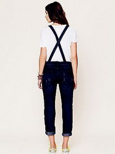 Free People overalls. Can't get enough of them!
