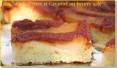 Un gâteau qui fait adorer les poires aux non amateurs. Merci le caramel!