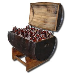 Wine Barrel Ice Chest Pallet Projects, Projects To Try, Ice Chest Cooler, Steampunk Pirate, Steampunk Gadgets, Wine Barrels, Steampunk Accessories, Party Ideas, Gift Ideas