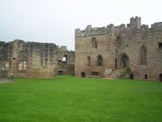 Ludlow Castle: where Prince Arthur and Catherine of Aragon lived after their marriage in 1501.