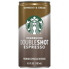 Starbucks Doubleshot, Espresso   Cream, 6.5 Ounce, 12 Pack