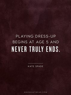 Crucial Fashion Quotes