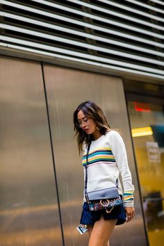 9fff3f54e1d3 Aimee Song - The Cut Cool Street Fashion