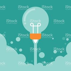 Business Start up launch concept royalty-free stock vector art Free Vector Art, Flat Design, Starting A Business, Image Now, Royalty, Product Launch, Concept, Creative, Illustration