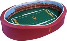 NCAA Arizona State Sun Devils Stadium Pet Beds, 20 x 30-Inch Stadium Pet Beds  OMG!!!  YESSSS!!!  @mrslono @kbrockmeyer91
