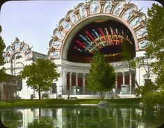 Paris World's Fair, 1900. Image from the Brooklyn Museum.