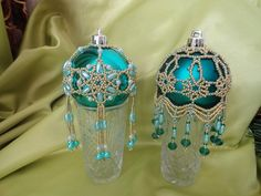 New Year is around the corner ... (lots of Christmas-tree balls) | biser.info - all about beads and beaded works