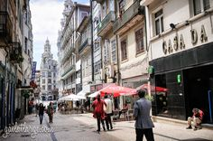 Rua de Sampaio Bruno -- this is one of my favourite pictures of #Porto.