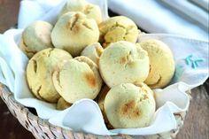 Versão mais saudável: pão de queijo à base de grão-de-bico