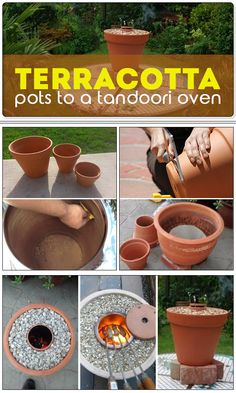 Did you know? Terracotta flower pots can be used even for making a yummy tandoori?