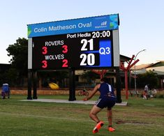 Danthonia Designs scoreboard in the Pilbara (@DanthoniaDesign) | Twitter