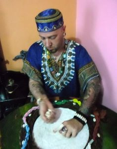 Baba Callegari D'Oxumarê -Ifá Merindilogum