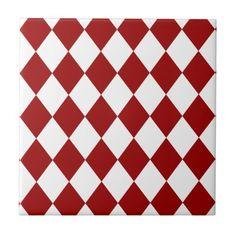 Kiln Ceramic 2x8 Siren Red Ceramic Tile Ceramic subway tile