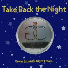 Did you know the most crucial time to treat your dry skin is at night prior to sleep? #GCSC #Sleep #NightCream See more at: http://goldencaviarskincare.com/caviar-exquisite-night-cream.html/