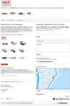 Sonnenbrille, Sonnenbrillen, Marken Sonnenbrillen, günstige Sonnenbrillen, billige Sonnenbrillen, preiswerte Brillen