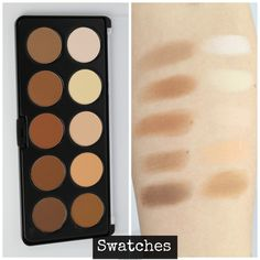 REVIEW + SWATCHES: BH Cosmetics Studio Pro Contour Palette – Kitty Kat Does Makeup