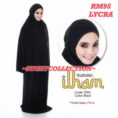 ~SWeetTCOLLeCTION~: ~ TELEKUNG LYCRA PLAIN RM95