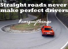 #CarGuyThings Be on the difficult track !