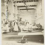 Photograph - Decorated Medical Ward, Abbassia, Egypt, Nurse A. E. Williams (nee Cocking), World War I, Dec 1916