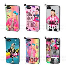 JoJo Siwa Bow Joelle Joanie Phone Case Cover for iPhone or Samsung Jojo Siwa Bows, Jojo Bows, Jojo Siwa Outfits, Jojo Siwa Birthday, Hello Kitty, Samsung, Joko, Ipod Cases, Unicorn Party