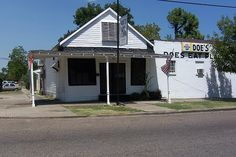 Doe's Eat Place, Greenville MS.  Home of the greatest steak in the world.
