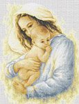 Mother and Child Cross Stitch Kit
