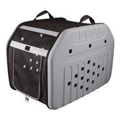 Small Dog Crate - TRIXIE Pet Products Malta Pet Transport Box Small -- Read more at the image link. (This is an affiliate link). Malta, Cat Throwing Up, Dog Crate Pads, Pet Transport, Large Dog Crate, Large Dogs, Pet Kennels, Dog Playpen, Wireless Dog Fence