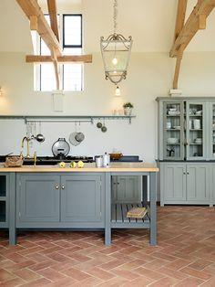Devol classic English kitchen