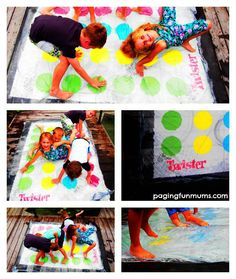 Water Blob Twister! The ultimate Summer Game!