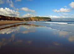 Praia de Santa Bárbara on São Miguel is one of the island's many fine black sand beaches. Azores: The Bradt Guide www.bradtguides.com