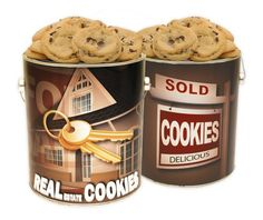 Real Estate Cookie Gallon - Chocolate Chip