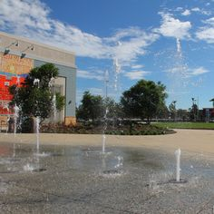 Cool off and have fun doing it! The Pop Jet Fountain is now open on Town Center Drive next to Charming Charlie.