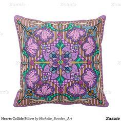 Hearts Collide Pillow