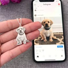 😍 Personalized Photo Necklace Sterling Silver 🐶 Keep an immortal souvenir of your beloved ones. Chose your favorite pic and we will do the rest. Frozen Dog, Dog Jewelry, Silver Jewelry, Animal Jewelry, Silver Bracelets, Silver Ring, Group Of Dogs, Dog Necklace, Dog Memorial