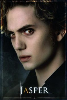 Jasper Hale: My favorite Twilight Vampire. I'm little late reading the books & watching the movies but its ok!