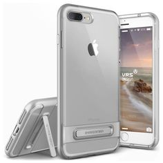 VRS Crystal Bumper iPhone 7 Plus (5.5 in) Case - Satin Silver