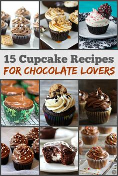 15 Cupcake Recipes for Chocolate Lovers
