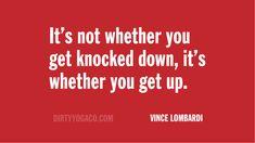 Get up. Get on up.