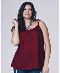 Plain Camisole at Simply Be