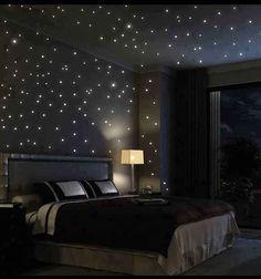 A Starry Night Bedroom