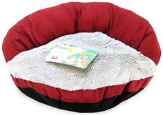 Dosckocil (Petmate) DDS26544 12-Pack Round High Back Dog Bolster Bed, 23-Inch - http://www.thepuppy.org/dosckocil-petmate-dds26544-12-pack-round-high-back-dog-bolster-bed-23-inch/