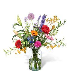 Plukboeket groot  div. bloemen / kleuren verkrijgbaar bij Boeketten.nl